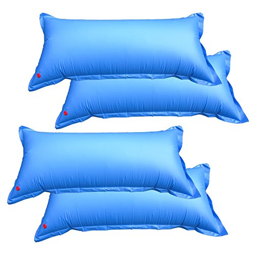 Pool Mate 1-3748-04 Heavy-Duty 4-foot x 8-foot Winterizing Air Pillow for Above Ground Swimming Pools, 4-Pack