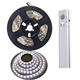 Luci a striscia LED con sensore di movimento,Sunboia impermeabile LED batteria azionato SM...