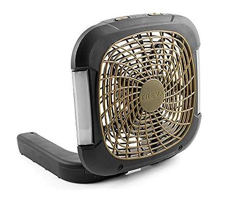 O2COOL Treva 10-Inch Battery Powered Portable Fan