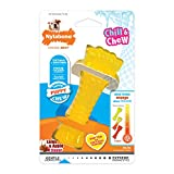 Nylabone Puppy Chew Freezer Dog Toy Lamb & Apple Flavor Small/Regular - Up to 25 lbs.