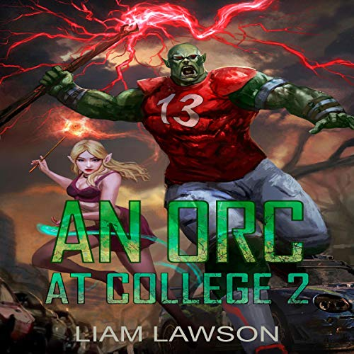 An Orc at College 2 audiobook cover art