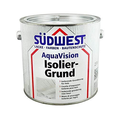 Südwest Aqua Vision Isoliergrund weiß matt 2,5 Liter