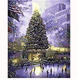 Central Park Of New York Oil Painting Us Landscape Picture By Numbers Digital Drawing Coloring Unique Gift Decor Room Decoration Sin Marco 40X50Cm