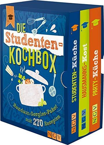 Die Studenten-Kochbox: Rundum-Sorglos-Paket mit 270 Rezepten