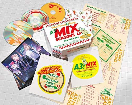 [画像:イケメン役者育成ゲーム「A3!」 MANKAIカンパニーミックス公演アルバム A3! MIX SEASONS LP[SPECIAL EDITION]]