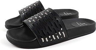 Carlton London Women's Gold Fashion Sandals