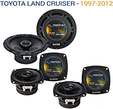 Compatible with Toyota Land Cruiser 1997-2012 OEM Speaker Upgrade Harmony R65 R4 Package New
