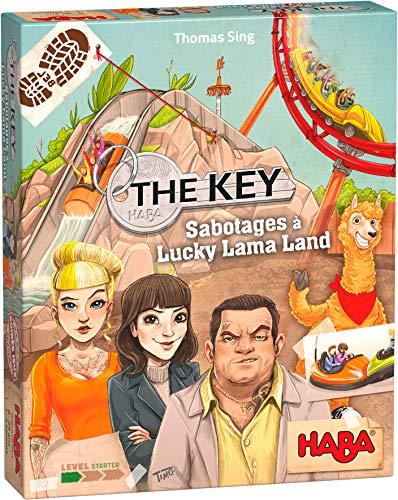 Preisvergleich Produktbild HABA - The Key - Lucky Lama Land Sabotage - 305856 - Untersuchungsspiel - Einsteigerstufe - 8 Jahre