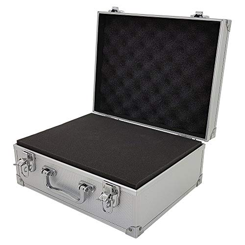 ROC Cases Flight Case With Foam Block Silver (L310xW240xH130mm)