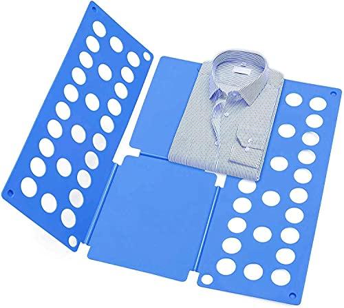 Duyifan Doblador de Ropa - Tabla para Doblar la Ropa - Placa Ayuda para Plegar la Ropa Camisetas Tablero para Plegar Camisas, Tablero Plegable para Ropa Camisas Ropa de niños y Adultos