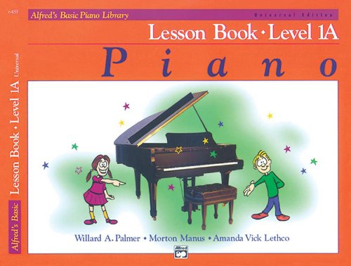 Alfred's Basic Piano Cursus - Lessenboek 1A (met CD)