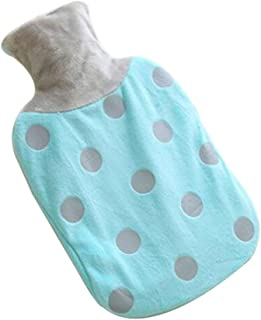 Classic Hot Water Bottle Comfortable Warm Water Bag for Home/Office -A7