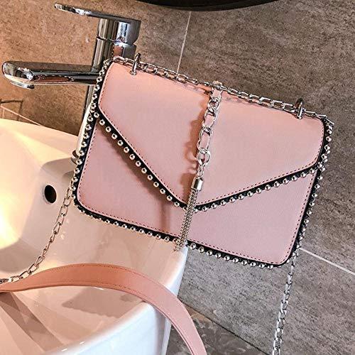 Jfs Chain Crossbody Bag for WomenShoulder BagLadies Travel Messenger Bags Female,Khaki