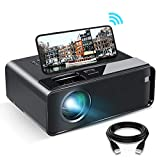 WiFi Projector, ELEPHAS 2020 WiFi Mini Projector with Synchronize Smartphone Screen, 1080P HD