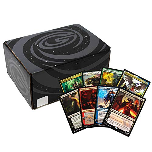 Cosmic Games Deluxe MTG Gift Set | 1000 Assorted Magic The Gathering Cards | Includes 4 Planeswalkers, 4 Mythic Rares, 15 Rares & 15 Foils | Great Magic The Gathering Starter Kit & Collection Builder