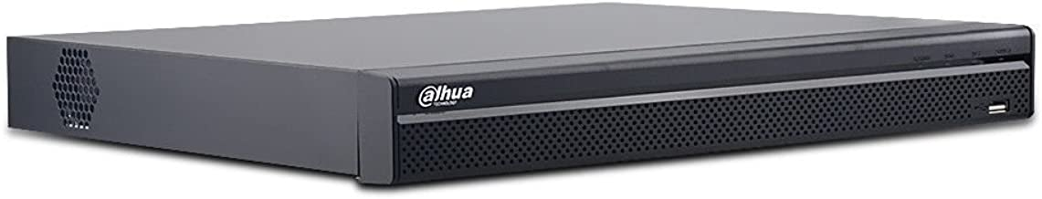 Dahua NVR5232-16P-4KS2E 12MP 32 Channel 1U 16PoE 4K&H.265 Pro 4K Network Video Recorder with 2 SATA III Ports, Up to 8 TB Capacity for Each HDD(Not Included)