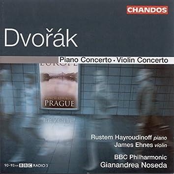 Dvorak: Piano Concerto / Violin Concerto