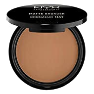 NYX Professional Makeup Matte Body Bronzer, Pressed Powder, Shimmer Free, Vegan Formula, Deep Tan