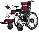 L&F Elektrischer Rollstuhl Faltbar - Elektrorollstuhl Faltbar - Elektrischer Faltrollstuhl Tragbarer Medizinischer Leichte Roller,Tragbare Ältere Behinderte Hilfe Auto