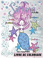 Sirène livre de coloriage 4-8 Ans: Incroyable 60 Pages à Colorier pour les enfants avec les mignonnes sirènes et leurs amis │ Livre d'activités avec des dessins adorables pour les filles