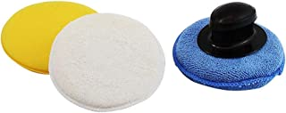 Kit Polimento Com Suporte 3x1 Gm Chevrolet Kit Polimento Com Suporte 3x1 Gm Amarelo/Branco/Azul