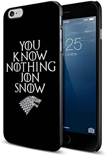 You know nothing Jon Snow Game Of Thrones For iPhone 6 Plus/6s Plus Black Case
