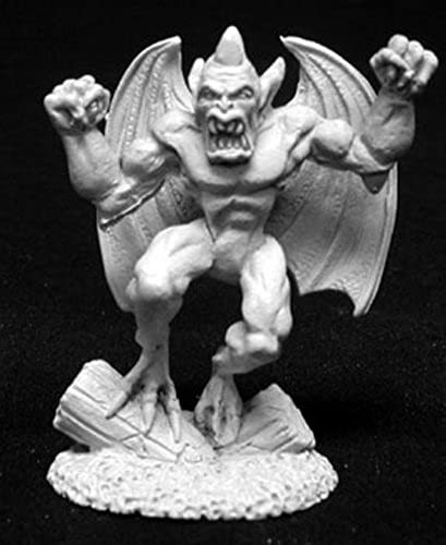 Reaper Miniatures Gargoyle  02040 Dark Heaven Legends Unpainted Metal RPG Figure