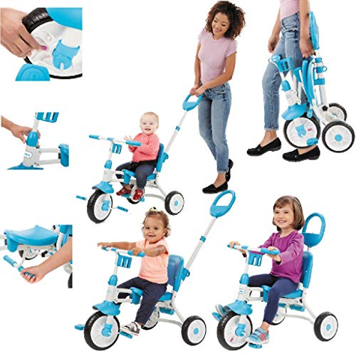 Little Tikes Pack 'n Go Trike Childs Toy, Light Blue
