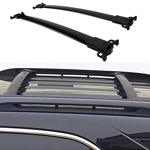 ANTS PART Roof Rack for 2010-2017 Chevrolet Chevy Equinox/GMC Terrain Cross Bars OE Style(Need Factory Side Rails)
