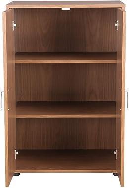 Mamta Decoration MDF Multipurpose Cabinet (Walnut)