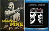 The Anti Hero, Denzel Masterpieces: Man On Fire W/ Limited Edition Pop Art Slipcover (Blu-Ray/ HD Digital) + American Gangster (Blu-Ray) Bundle Denzel Washington Classics