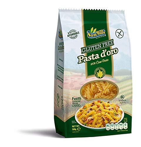 Pasta d´oro – Glutenfreie Nudeln (Fusilli) aus Maismehl   500 g Packung