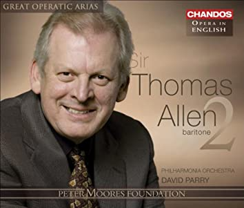 Great Operatic Arias (Sung in English) - Allen, Thomas, Vol. 2