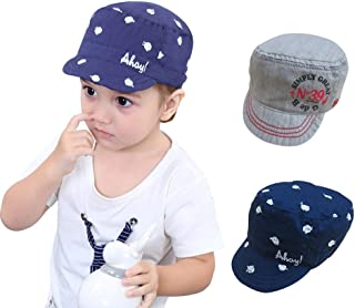 Baby Boys Sun Protection Hats Baseball Caps Summer Play Hat for 0-30 Months Infant Toddler Kids 2 - Pack