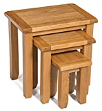 Amazon Brand - Alkove Monchique nest of 3 tables