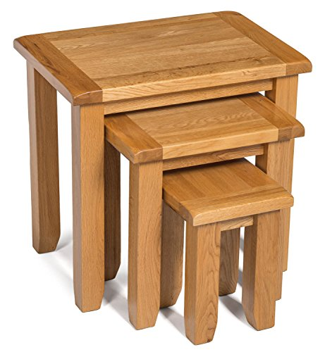 Amazon Brand - Alkove Monchique nest of 3 tables
