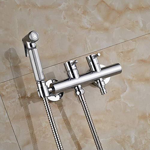 Fregadero grifos lavabo grifo Ducha acabado latón