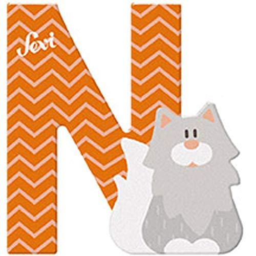 Sevi 83014 Buchstabe N Norwegische Waldkatze - 10 cm