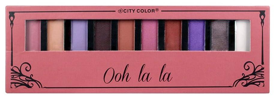 劇作家ビデオ報いるCITY COLOR Ohh La La Eyeshadow Palette - 10 Shades (並行輸入品)