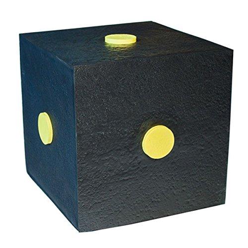 YATE Bogenschießen Zielscheibe Polimix Cube 30cm x 30cm Schießwürfel bis 50lbs für Indoor & Outdoor einfaches Pfeile ziehen, sehr langlebig,
