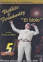 EL IDOLO VICENTE FERNANDEZ 5 EXITOSAS PELICULAS: LA LEY DEL MONTE / UNA PURA Y DOS CON SAL / ACORRALADO / EL MACHO / SINVERGUENZAS PERO HONRADO