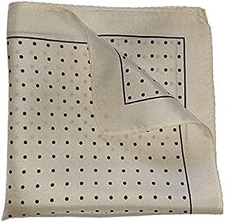 The Black Polka Silk Pocket Square