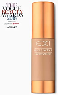 EX1 Cosmetics Invisiwear Liquid Foundation 3.5 - Oil and Fragrance Free, Dermatologically, Clinically Tested