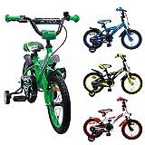AMIGO BMX Turbo - Kinderfahrrad - 14 Zoll - Jungen