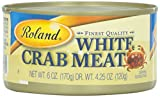 Roland White Crabmeat, 6 oz