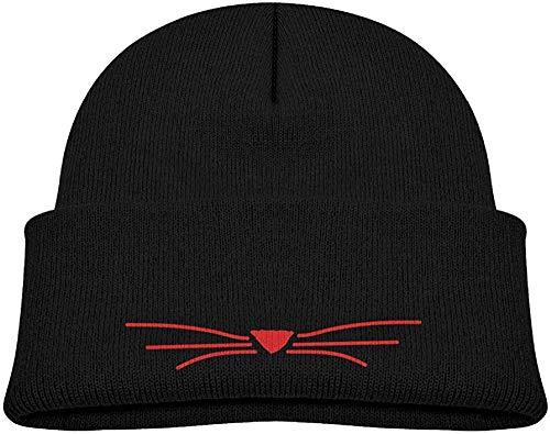 shixiaogood Beanie Cap Cat Meow Winter Knit Hat Baby Girls