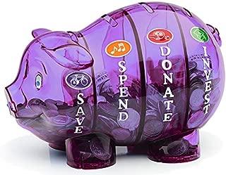 Money Savvy Pig - Purple