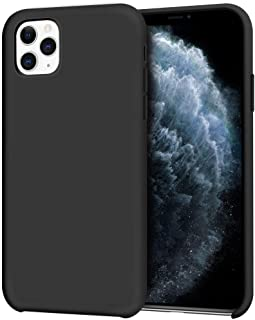 Anuck iPhone 11 Pro Case, Anti-Slip Liquid Silicone Gel Rubber Bumper Case with Soft Microfiber Lining Slim Hard Shell Shockproof Protective Case Cover for Apple iPhone 11 Pro 5.8