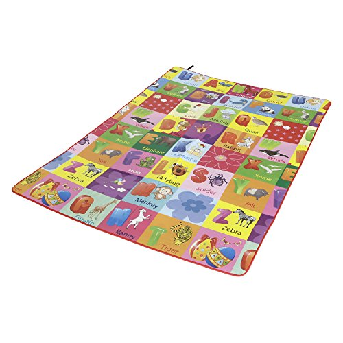 Paramount Waterproof, Anti Skid, Double Sided Baby Play and Crawl Mat (6 x 5 Feet)