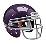 Schutt Sports 798004 Youth Recruit Hybrid Football Helmet (Faceguard Not Included), Purple, Large
